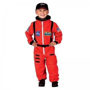 ORANGE NASA ASTRONAUT SUIT WITH