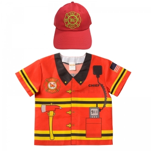 MY 1ST CAREER TODDLERS FIRE TOP CAP  GEAR
