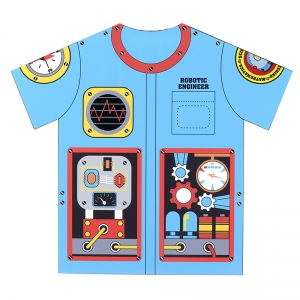 MY 1ST CAREER GEAR ROBOT ENGINEER  TOP ONE SIZE FITS MOST AGES 3-6