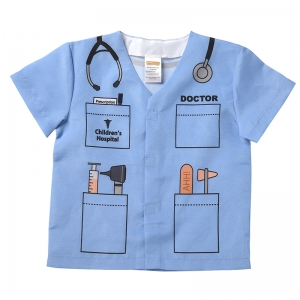 MY 1ST CAREER GEAR BLUE DOCTOR TOP