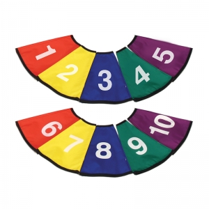 Numbered Cone Covers, Set of 10
