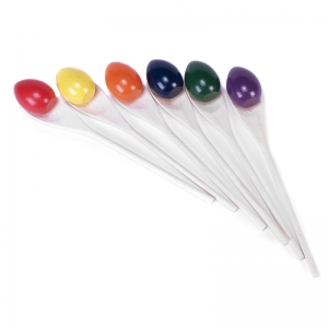 RAINBOW EGG & SPOON SET