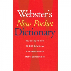 WEBSTERS NEW POCKET DICTIONARY