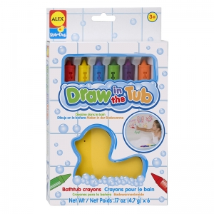 Draw In The Tub Crayons, Pack of 6