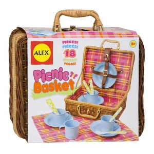 PRETEND PICNIC BASKET