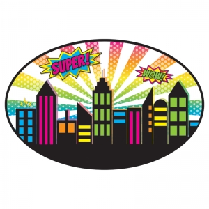 SUPER CITY MAGNETIC WB ERASER