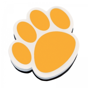 MAGNETIC WHITEBOARD ERASER GOLD PAW