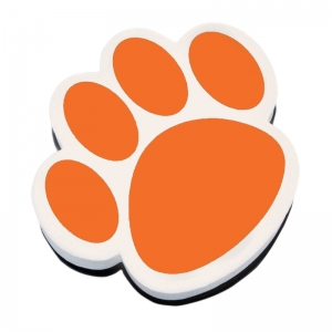 MAGNETIC WHITEBOARD ERASER ORANGE  PAW