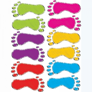 DIE-CUT MAGNET SCRIBBLE FOOTPRINTS