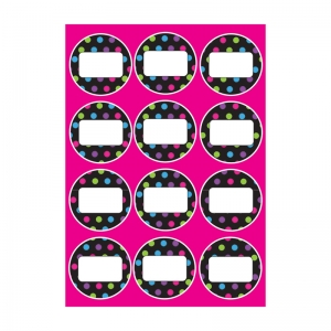 DIE CUT MAGNETS COLOR DOTS