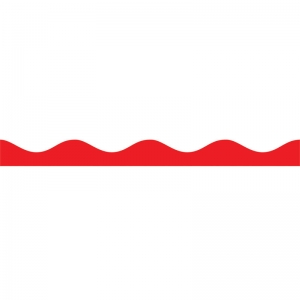 Magnetic Border, Red, 12'