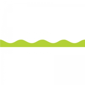 Magnetic Border, Lime Green, 12'