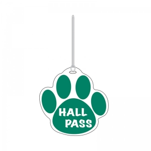 GREEN PAW HALL PASS 4 X 4
