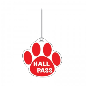 RED PAW HALL PASS 4 X 4