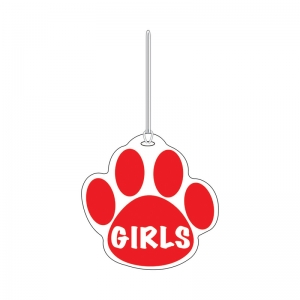 Red Paw Hall Pass, Girls