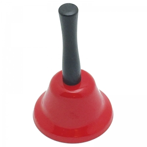 RED DECORATIVE HAND BELLS