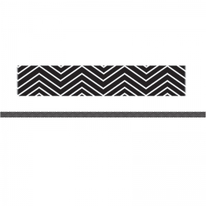 MINI MAGNETIC MAGI STRIPS BLACK  CHEVRON