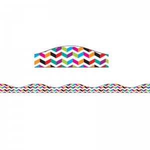 BIG MAGNETIC BORDER MULTI COLOR  CHEVRON