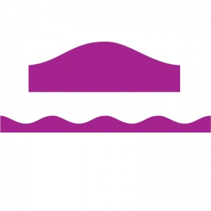 BIG MAGNETIC BORDER PURPLE