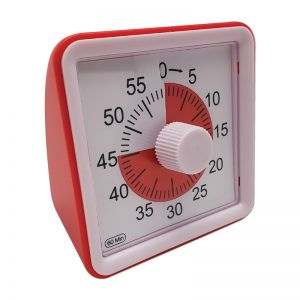 "Smarttime To-Go Portable Timer, 3"" x 3"""