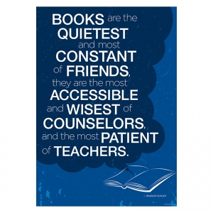 POSTER - BOOKS MOST CONSTANT OF  FRIENDS
