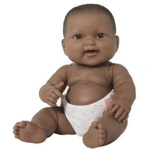 LOTS TO LOVE 10IN AFRICAN AMERICAN  BABY DOLL