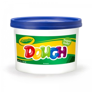 MODELING DOUGH 3LB BUCKET BLUE