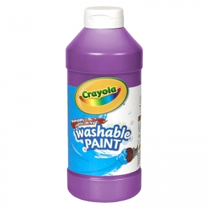 CRAYOLA WASHABLE PAINT 16OZ VIOLET