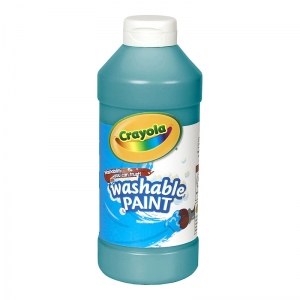 CRAYOLA WASHABLE 16OZ TURQUOISE  PAINT
