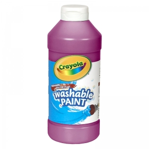 CRAYOLA WASHABLE PAINT 16OZ MAGENTA