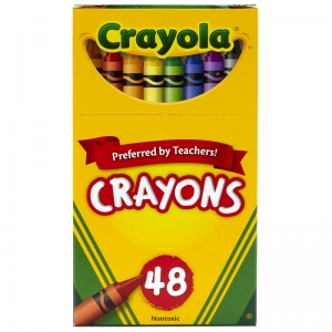 Crayons, Regular Size, 48 Count