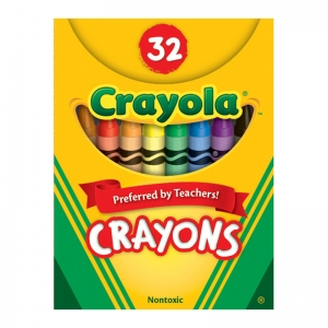 Crayola Crayons, Tuck Box 32 ct.