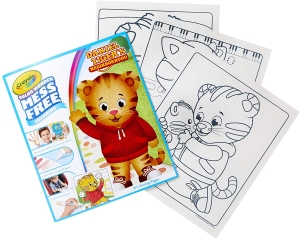 Color Wonder Mess Free Refill Book, Daniel Tiger's Neighborhood
