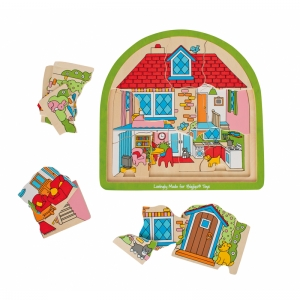 MULTI-LAYER HOUSE PUZZLE