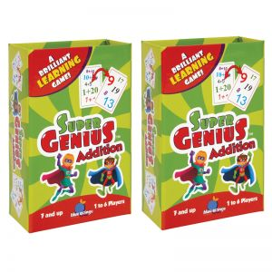 Super Genius Addition Game, Pack of 2