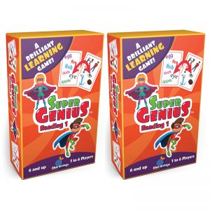 Super Genius Reading 1 Game, Pack of 2