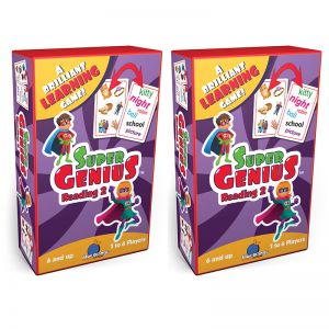Super Genius Reading 2 Game, Pack of 2