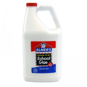 ELMERS SCHOOL GLUE GALLON BOTTLE