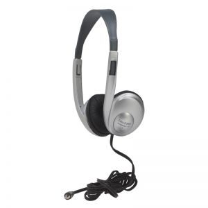 Multimedia Stereo Headphone, Silver, Pack of 2