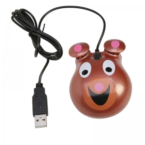 ANIMAL-THEMED COMPUTER MICE BEAR  MOTIF