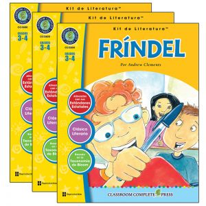 Fr�ndel  Literature Kit, Spanish Version, Grades 34, Pack of 3