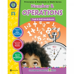 GR 3-5 MATH TASK & DRILL NUMBER &  OPERATIONS