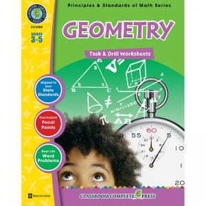 GR 3-5 MATH TASK & DRILL GEOMETRY