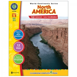 WORLD CONTINENTS SERIES NORTH  AMERICA