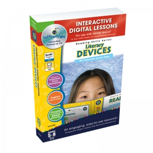 LITERACY DEVICES INTERACTIVE  WHITEBOARD LESSONS