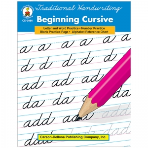 TRADITIONAL HANDWRITING BEGINNING  CURSIVE BOOK