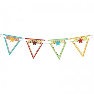 HIPSTER BUNTING BANNER