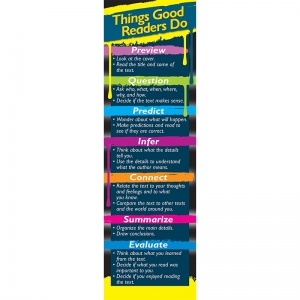 Things Good Readers Do Bookmarks, Grade 38, Pack of 30