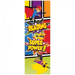 Super Power Bookmarks, Pack of 30