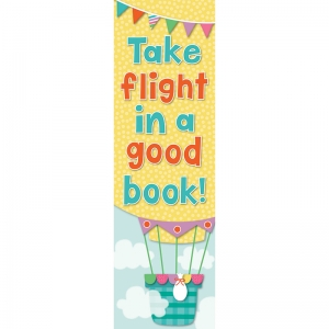 Up and Away Bookmarks, Pack of 30
